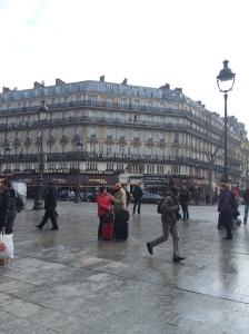 Arriving in Paris!