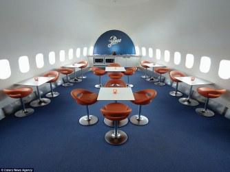 Stockholm airport seats