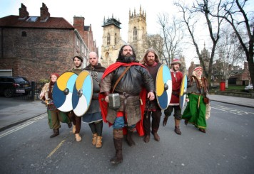 JORVIK Viking Festival 2014. Viking warriors have started to arrive in York for the start of the 30th JORVIK Viking Festival...and to find out if the prediction of Ragnarok, the Norse Apocalyse, will indeed come true on the 22nd February 2014. The Jorvik Viking Festival runs from 15th - 23rd February 2014.