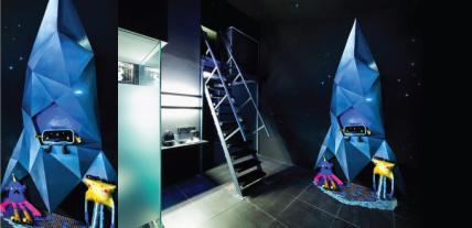 whimsical-blue-spaceship